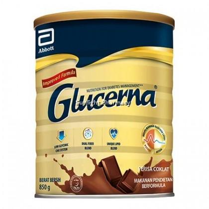 Abbott Glucerna Improved Formula Gold 850G (Chocolate)