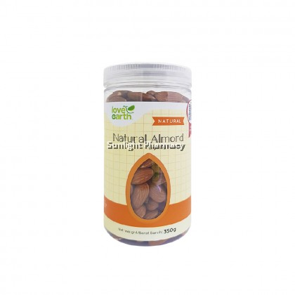 Love Earth Natural Almond 350G