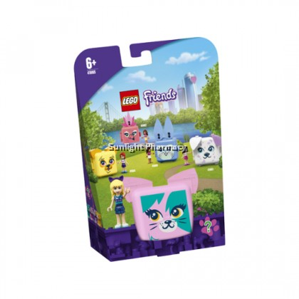 Lego Friends Stephanie'S Cat Cube 6+Yrs #41665