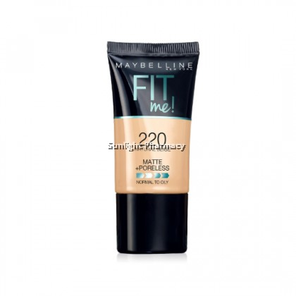 Maybelline Fit Me Powder Foundation Matte +Poreless 18Ml - 220 Natural Beige