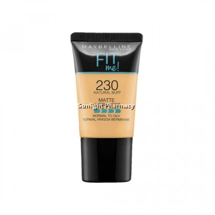 Maybelline Fit Me Powder Foundation Matte +Poreless 18Ml - 230 Natural Buff