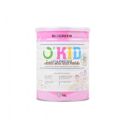 Biogreen O'Kid High Protein Organic Soy Milk 700G