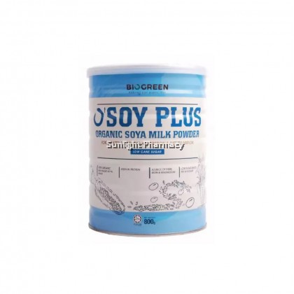 Biogreen O'Soy Plus Low Cane Sugar 800G