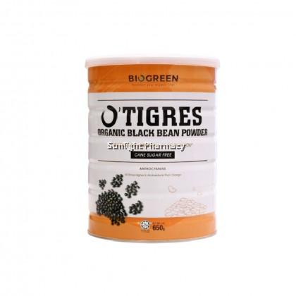 Biogreen O'Tigres Organic Black Bean Powder Sugar Free 650G