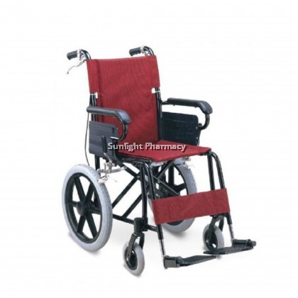 Ezylife Aluminium Light Weight Wheelchair FS871LBJ